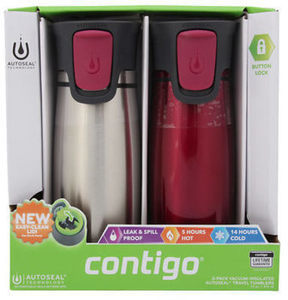 Contigo Travel Mugs, 2pk