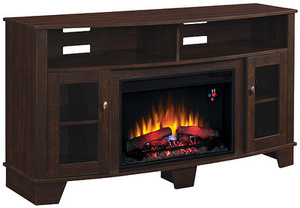 Twin Star Fireplace Tv Stand