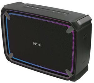 iHome IBT374 Weather-Touch Portable Rechargeable Bluetooth Speaker