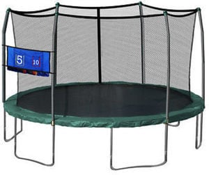 Skywalker Trampolines 16' Oval w/ Enclosure & Toss Game