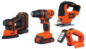 Black & Decker 20V MAX 4-Pc. Tool Set