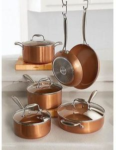 Gourmet Living 10-piece Hard Anodized Cookware Set