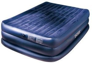 Intex Rising Comfort Raised Queen Airbed w/ Built-in Electric Pump