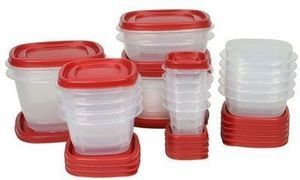Rubbermaid 40 Piece Easy Find Lid Food Storage Set