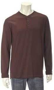 NorthCrest Mens Jersey Henley