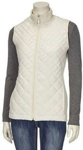 NorthCrest Womens Full Zip Quilted Vest