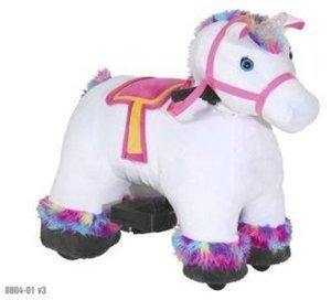 Plush Unicorn 6V Ride-On
