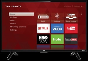 "TCL 32"" HD Roku Smart HDTV"