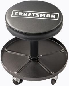 Craftsman C-3001 Adjustable Pneumatic Mechanics Swivel Seat