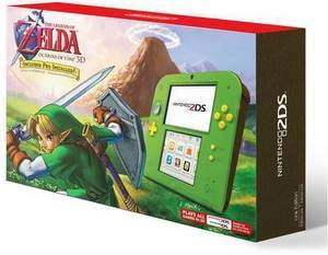 Nintendo 2DS Link Edition with The Legend of Zelda: Ocarina of Time 3D