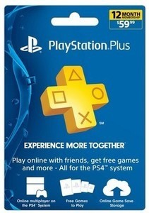 PlayStation Plus 12 Month Membership $59.99 - Email Delivery