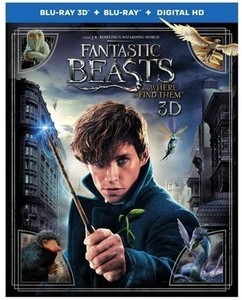 3D Fantastic Beasts and Where to Find Them (3D + Blu-Ray + Digital)