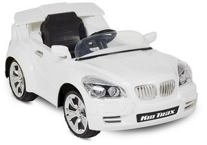 Kid Trax Custom Car 6V Ride-On - White