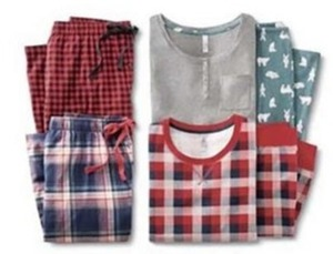 Gilligan O'Malley Flannel Sleep Pants Or Sleep Set