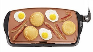 Bella Copper Griddle After Rebate