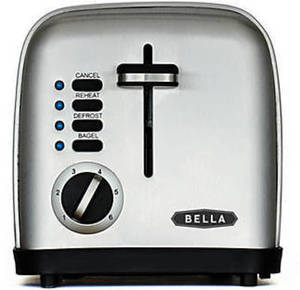 Bella 2-Slice Toaster After Rebate