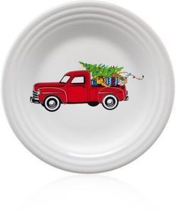 Farm Truck Collectible Luncheon Plate
