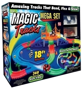 Magic Tracks As Seen on TV Glow in the Dark Car Race Tracks
