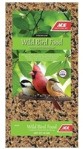 Ace Wild Bird Food 40lbs w/ Card