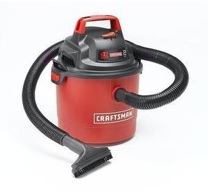 Craftsman Portable Wall Mount 2.5 Gallon 2 Peak HP Wet/Dry Vac