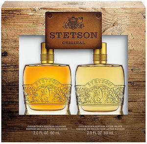Stetson Men's Collector's Edition 2-Pc. Decanter 4-Oz. Gift Set