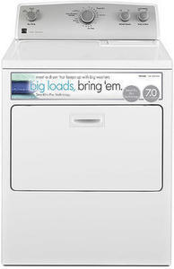Kenmore 65132 7.0 cu. ft. Electric Dryer w/ SmartDry Plus Technology