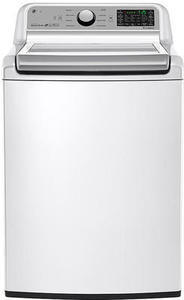 LG WT7200CW 5.0 cu. ft. Ultra Large Capacity Top Load Washer