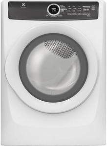 Electrolux EFME417SIW 8.0 cu. ft. Perfect Steam Electric Dryer