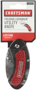 Craftsman 2.25 In. Blade Folding Lockback Utility Knife