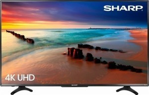 "Sharp 50"" Class LED 2160p Smart 4K Ultra HD TV w/ ROKU"