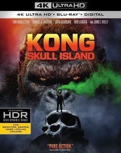 Kong: Skull Island [w Digital Copy] [4K Ultra HD Blu-ray/Blu-ray]