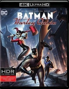 Batman and Harley Quinn [4K Ultra HD Blu-ray] [2 Discs] [2017]