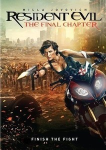 Resident Evil: The Final Chapter DVD