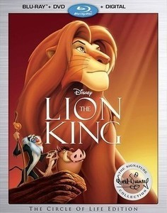 The Lion King: The Walt Disney Signature Collection (Blu-Ray/DVD)