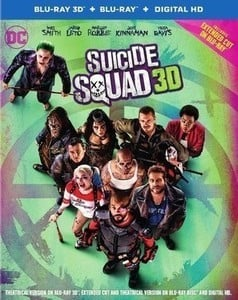 Suicide Squad 3D + Blu-ray