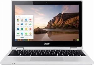 "Acer R 11 2-in-1 11.6"" Touch-Screen Chromebook w/ Intel Celeron, 4GB & 16GB eMMC Flash Memory"