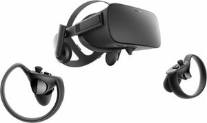 Oculus - Rift + Touch Virtual Reality Headset Bundle