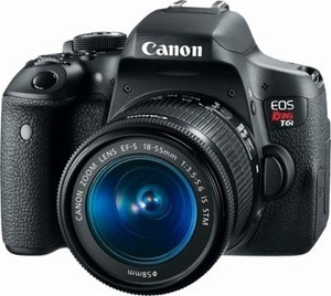 Canon EOS Revel T6i DSLR Camera