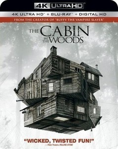 The Cabin in the Woods 4K Ultra HD Blu-ray