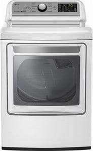 LG - 7.3 Cu. Ft. 9-Cycle Electric Dryer