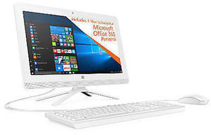 "HP 22-b226 All-In-One PC, 21.5"" Screen AMD A6 4GB Memory 1TB Hard Drive Windows 10 Home"