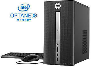 HP Pavilion 570-p050 Desktop PC, 7th Gen Intel Core i5, 8GB Memory, 1TB Hard Drive, Windows 10 Home, Z5N82AA#ABA