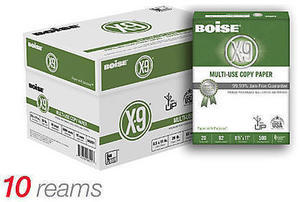 Boise X-9 Multi-Use Copy Paper After Rewards
