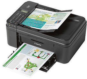 Canon PIXMA Wireless Color Inkjet All-In-One Printer, Copier, Scanner, Fax