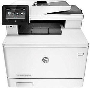 HP M477fnw Color LaserJet Pro Multi-Function Laser Printer