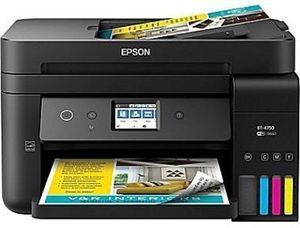 WorkForce ET-4750 EcoTank All-in-One Supertank Printer - Save $100 w/ Trade-In