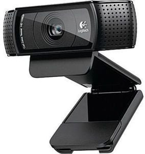 Logitech C920 Pro Computer Webcam With Dual Stereo Microphones, HD 1080p
