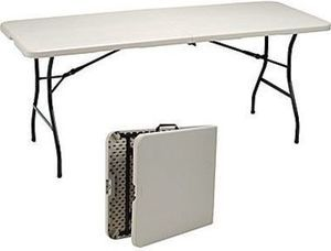 Staples 6' Fold in Half Folding Table