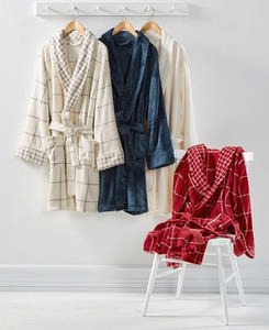 Martha Stewart Collection Plush Bath Robe