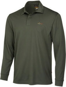 Greg Norman for Tasso Elba Men's Long-Sleeve Polo